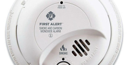 First Alert Hardwire Combination Smoke & Carbon Monoxide Alarm with Battery Back