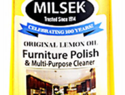 Milsek 12oz Lemon-Scented Oil Furniture Polish & Multi-Purpose Cleaner