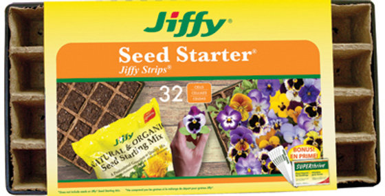 Jiffy® Seed Starter® Jiffy Strips® 32 cells
