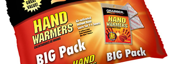 Grabber Hand Warmers Big Pack, 10 Pairs