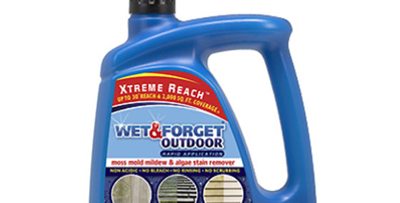 Wet & Forget Outdoor Spray With Ready-To-Spray Hose End