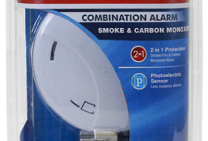 First Alert Slim Design Battery-Operated Combo Smoke & Carbon Monoxide Alarm
