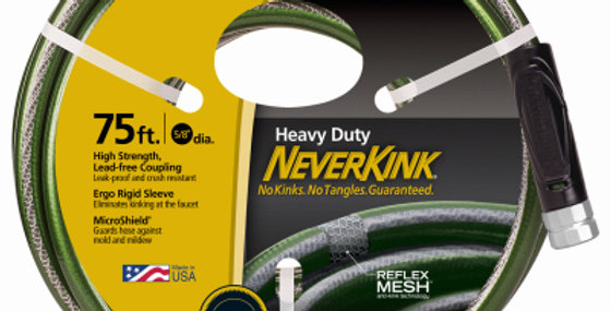 Neverkink Heavy Duty Garden Hose