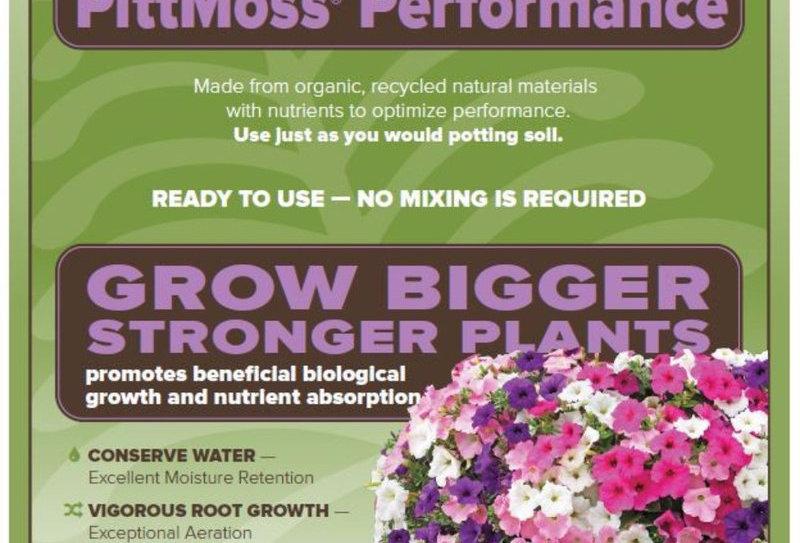 PittMoss® Performance - Nutrient Enhanced Blend - 1cu ft