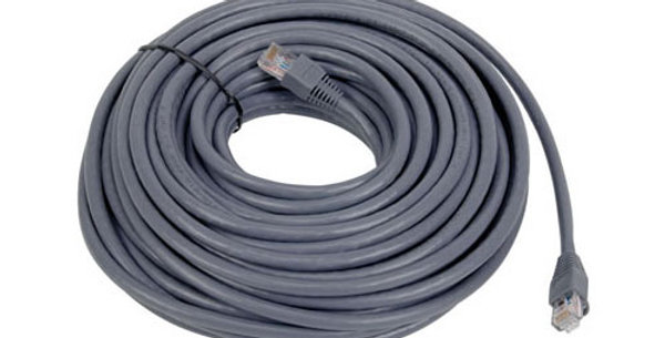 Audiovox 50 FT Gray Cat6 Ethernet Network Cable