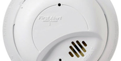 First Alert Hardwired Smoke Alarm with Battery Backup