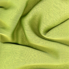 Two-Tone Chiffon Apple Green-Ceiling Drape
