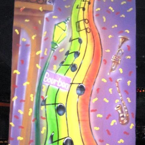 Mardi Gras Canvas