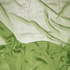 Two-Tone Chiffon Moss Green-Ceiling Drape