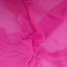 Two-Tone Chiffon Bubblegum-Ceiling Drape