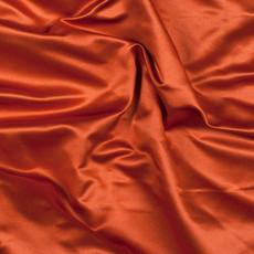 Charmeuse Satin Burnt Orange-Ceiling Drape