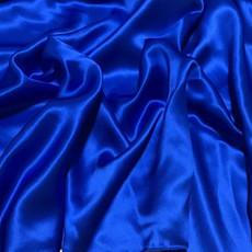 Charmeuse Satin Royal Blue-Ceiling Drape