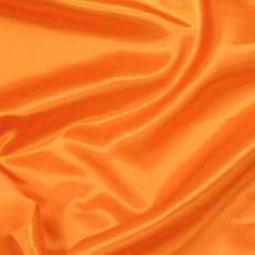Charmeuse Satin Orange-Ceiling Drape