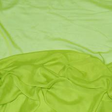 Two-Tone Chiffon Lime Green-Ceiling Drape