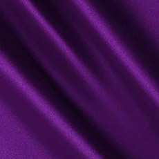 Charmeuse Satin Royal Purple-Ceiling Drape