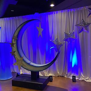 Stars & Moon/Space