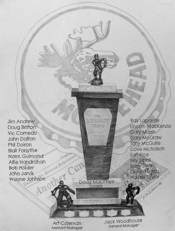 1972-1973 Saint John Mooseheads