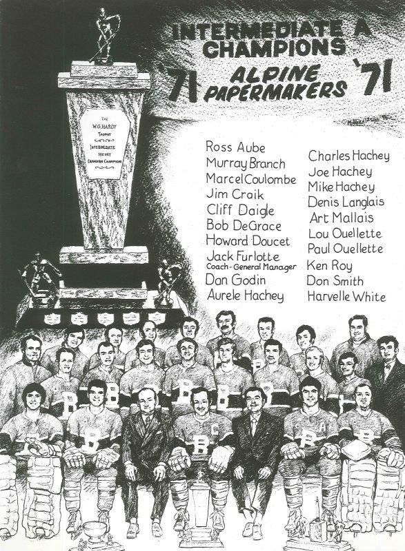 1971 Bathurst Papermakers fr