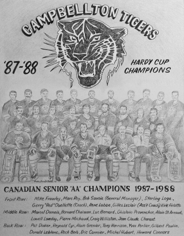 1987–1988 Campbellton Tigers fr