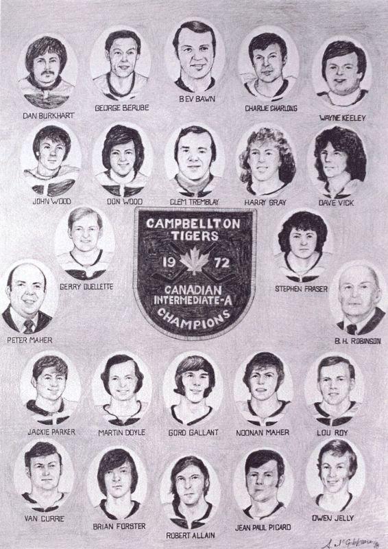 1972 Campbellton Tigers