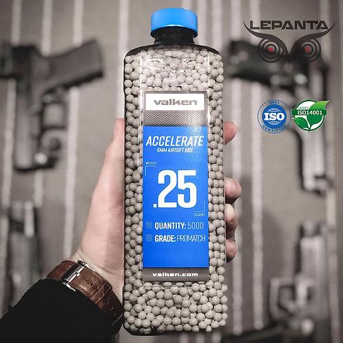 בקבוק כדורים 0.25 גרם