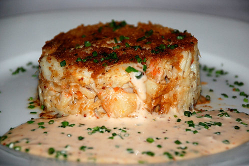 New Orleans Crab Cakes w/Remoulade Sauce (8)