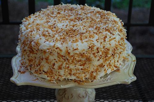 Three Layer Coconut Cake