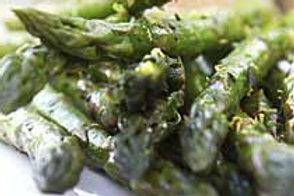Asparagus w/Lemon Butter Sauce
