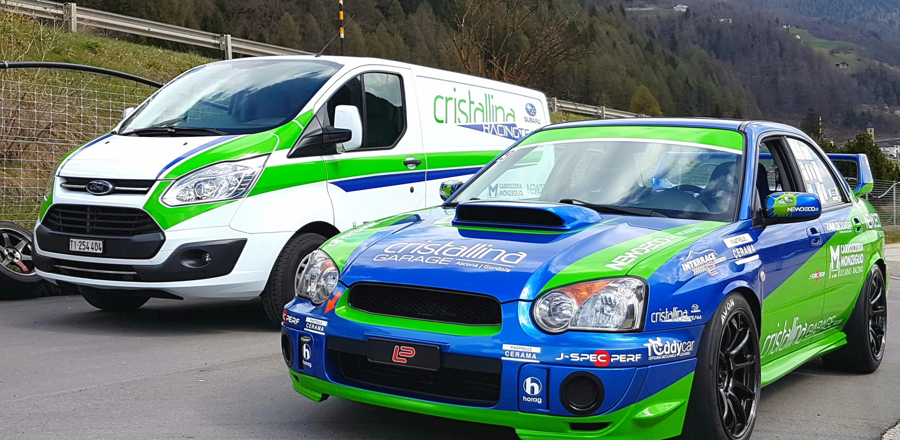 Subaru da corsa