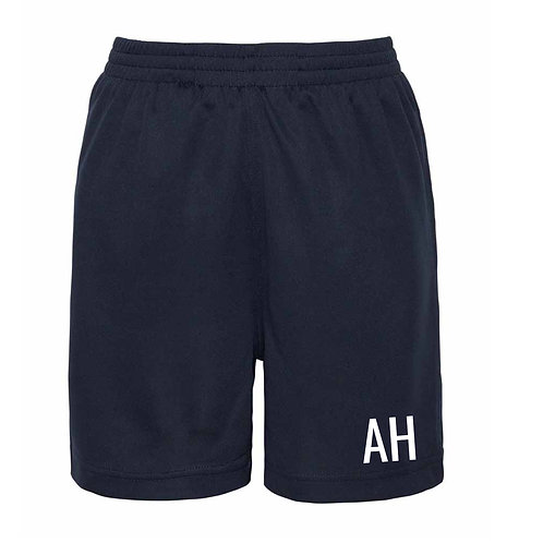 Navy Personalised Shorts