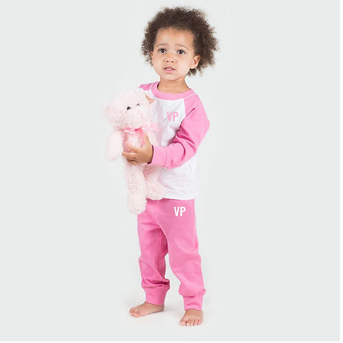 Pink Personalised Pyjamas