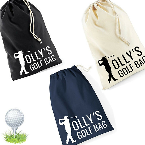 Personalised Golf Ball Bag
