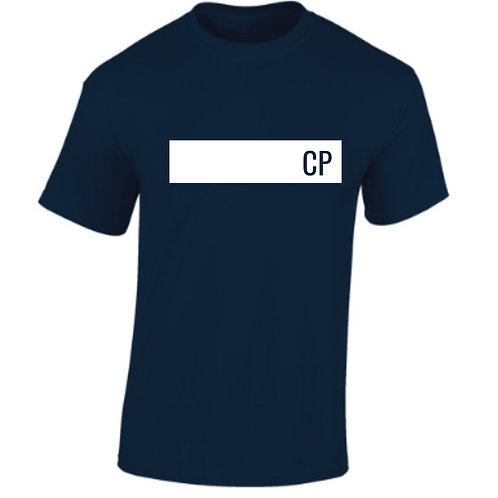 Navy Boxed Personalised T-Shirt