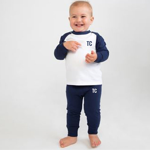 Navy Personalised Pyjamas