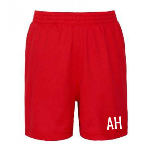 Red Personalised Shorts