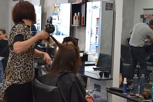 Hair salon rugby