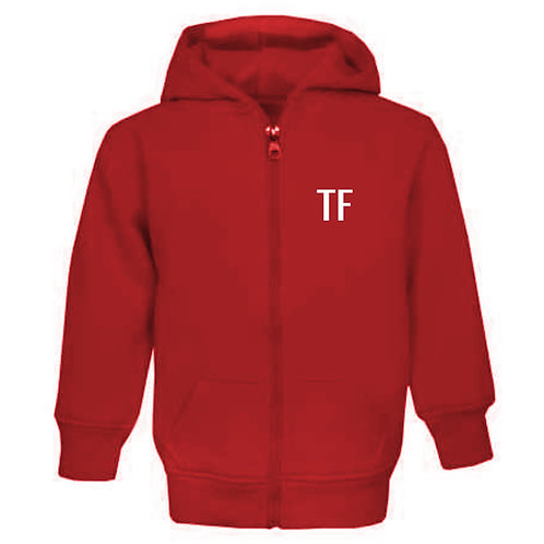 Red Personalised Tracksuit (Ages 6mth - 6yrs)