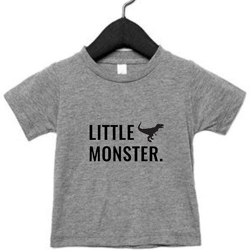 Little Monster Personalised T-Shirt