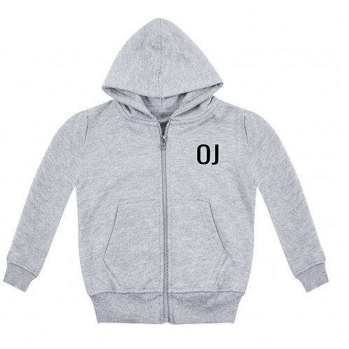 Grey Personalised Tapered Tracksuit (Ages 3-13)