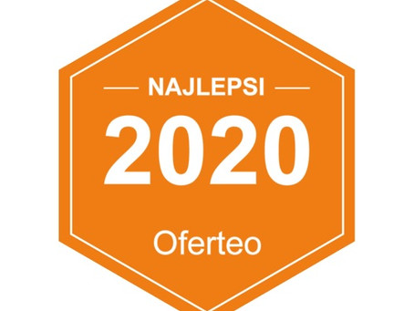 Nagroda Najlepsi Oferteo 2020 dla Kancelarii Wyląg