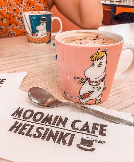 בית קפה של המומינים הלסינקי פינלנד