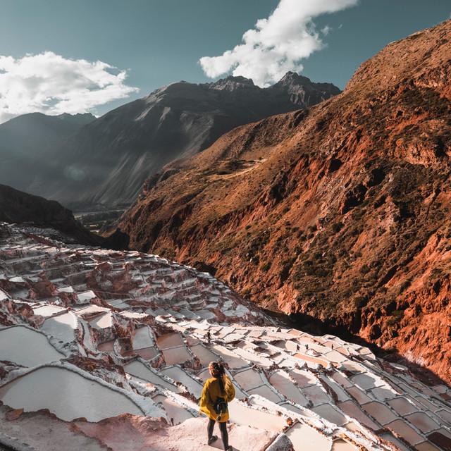 Adventure travel: Mountain view in Cusco, Peru