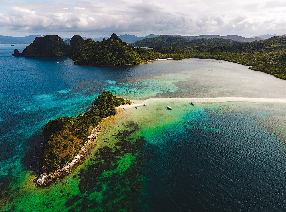 Exotic Romantic Honeymoon Destinations - exotic, tropical island getaway in the Philippines
