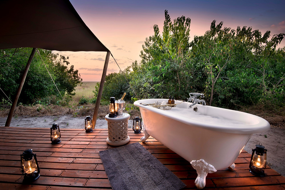 Exotic Honeymoon Destinations -Botswana, Victoria Falls & Mozambique luxury camps and beaches