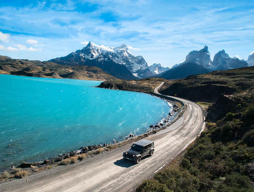 Top travel locations - Jeep Safari through Patagonia