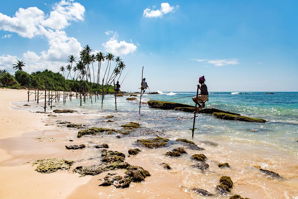 Exotic Honeymoon Destinations - Sri Lanka beach