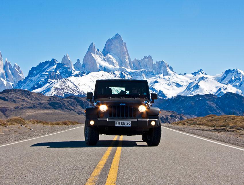 Top travel locations - Jeep Safari through Patagonia, Chile, Argentina