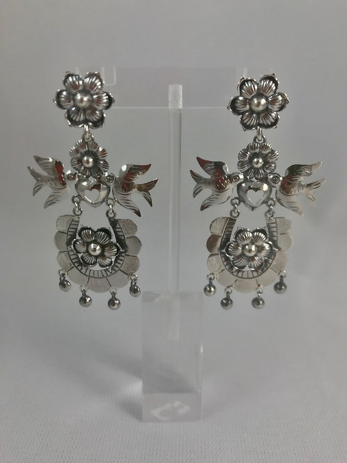 Aretes / Filigree Plata Sterling .925
