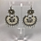 Thumbnail: Arracada Grande de filigrana en plata/Silver filigree earrings