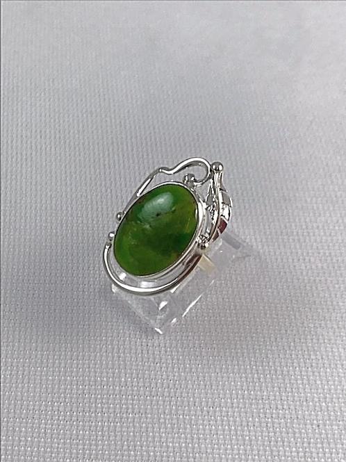 Anillo Turquesa Verde Plata Sterling .925